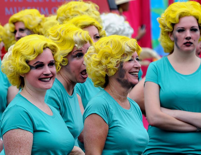 100 Marilyns - Parade the Circle - Cleveland, Ohio