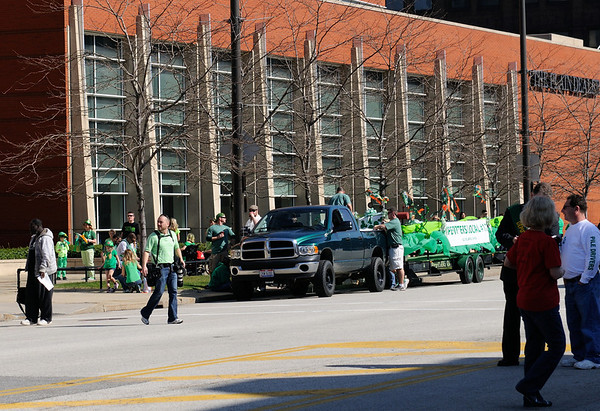 Dale at the Saint Patrick's Day Parade 2012