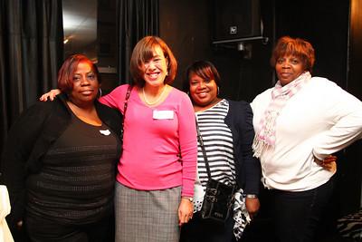 Monica Johnson, Maureen Farell, Stacey Montague & Kendall Edwards