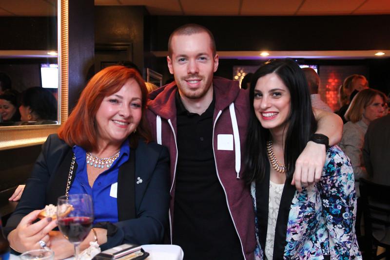 Priscilla Bloomingdale, Justin Bostwick & Jessie Holeva