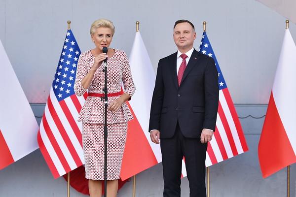 Speech of the First Lady Agata Kornhauser-Duda