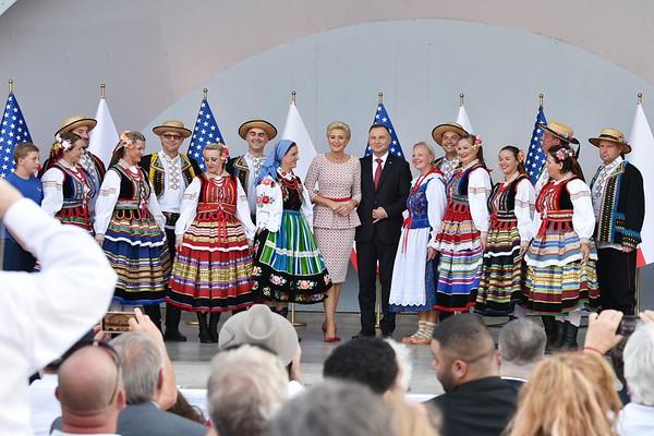 Polanie Folk Dance Group Performance