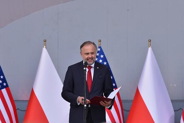 Speech of the Consul General of the Republic of Poland - Maciej Golubiewski