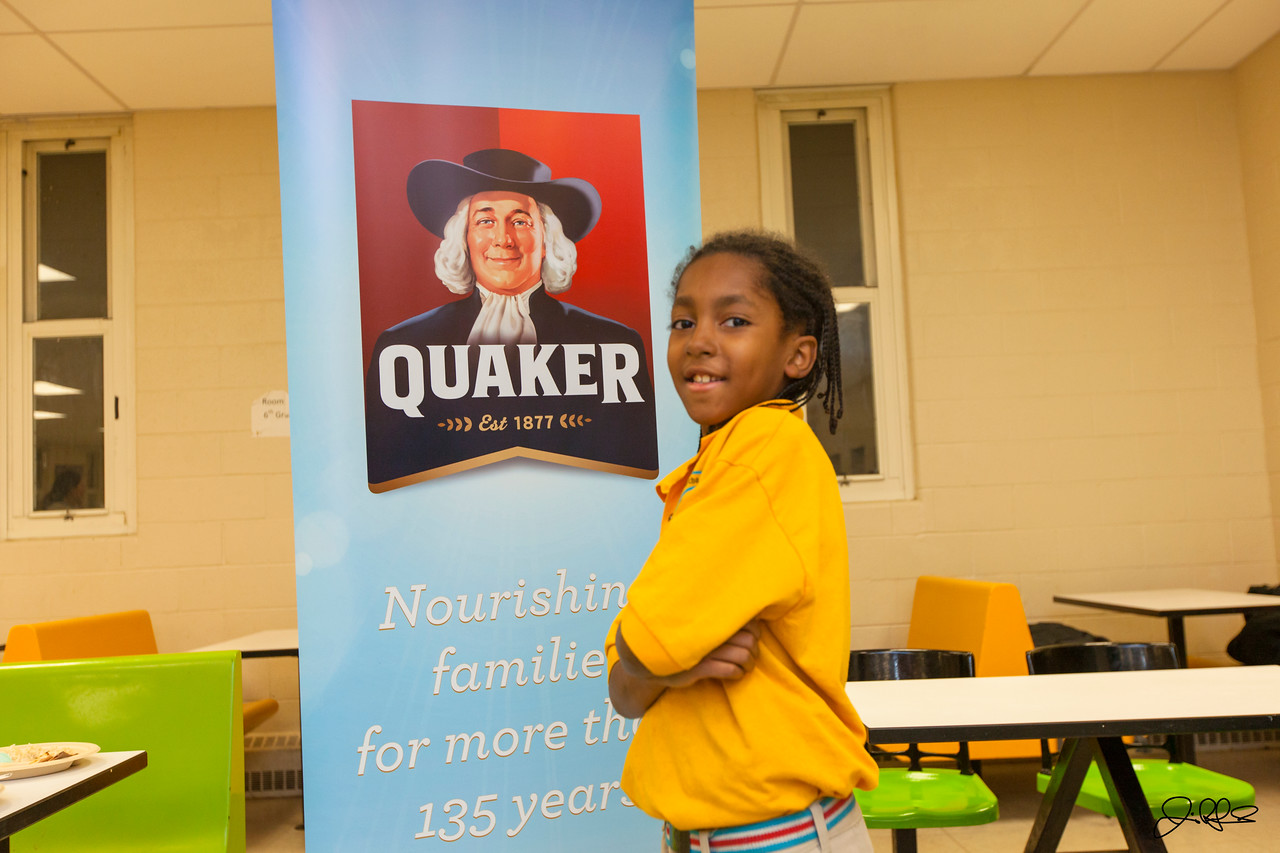 Quaker Oats Common Threads,  November 2012