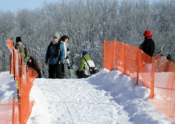 Photographers at the Punderson Sled Dog Classic