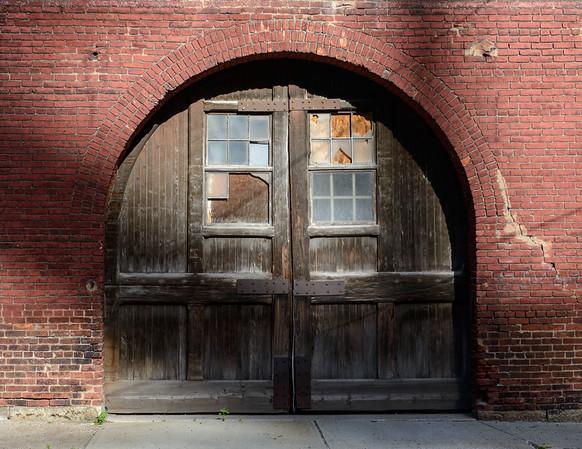 Old Door in the Flats