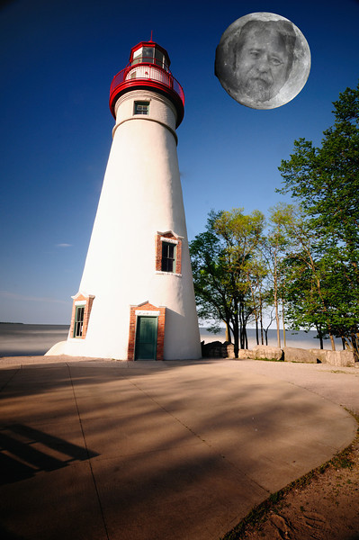 The Spirit in the Sky - Marblehead Lighthouse