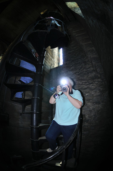 Coming Down the Bell Tower Stairs -  Church of the Covenant