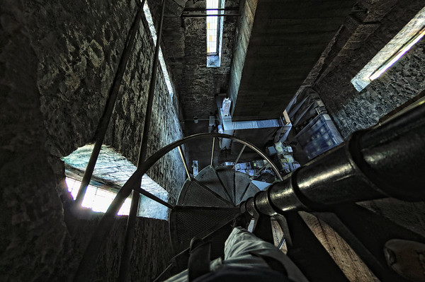Top of the Bell Tower Stairs - Church of the Covenant