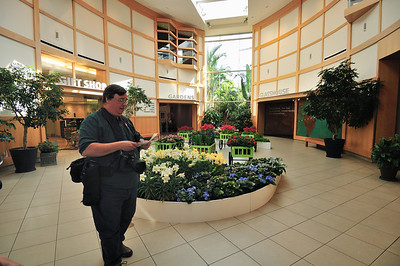 Photographers at the Botanical Gardens
