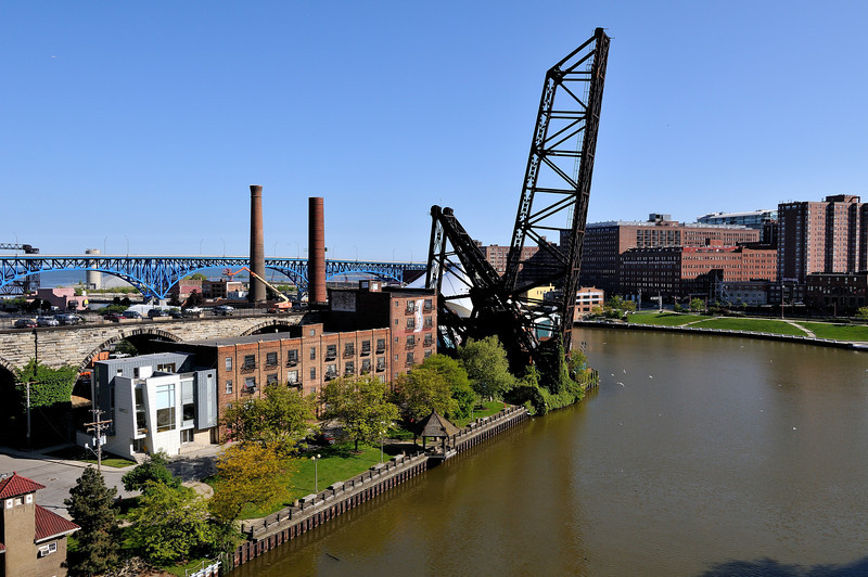 Cleveland Flats - From Veterans Memorial Bridge