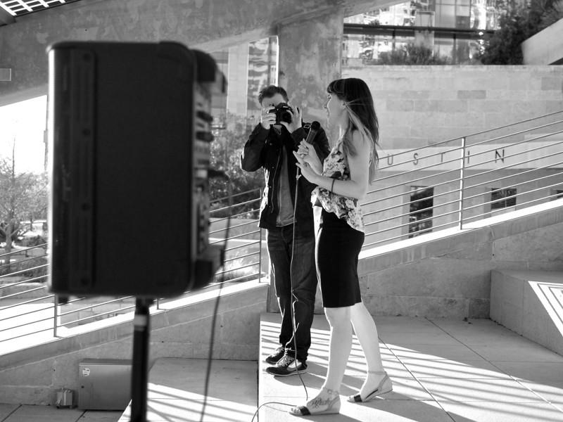 Trey Shoots Nicole, SXSW Photowalk - Austin, Texas