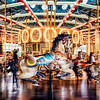 Cafesjian's Carousel at Como Park - beautiful 100 year old Carousel. Playing with front and rear curtain sync for the first time. Harder than I thought it was going to be!