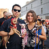 Marcus, Ana and their Chihuahuas, Dia de los Muertos Parade - Austin, Texas