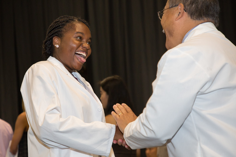 Penn State College of Medicine, Entering Class of 2018 White Coat Ceremony, July 27, 2018.