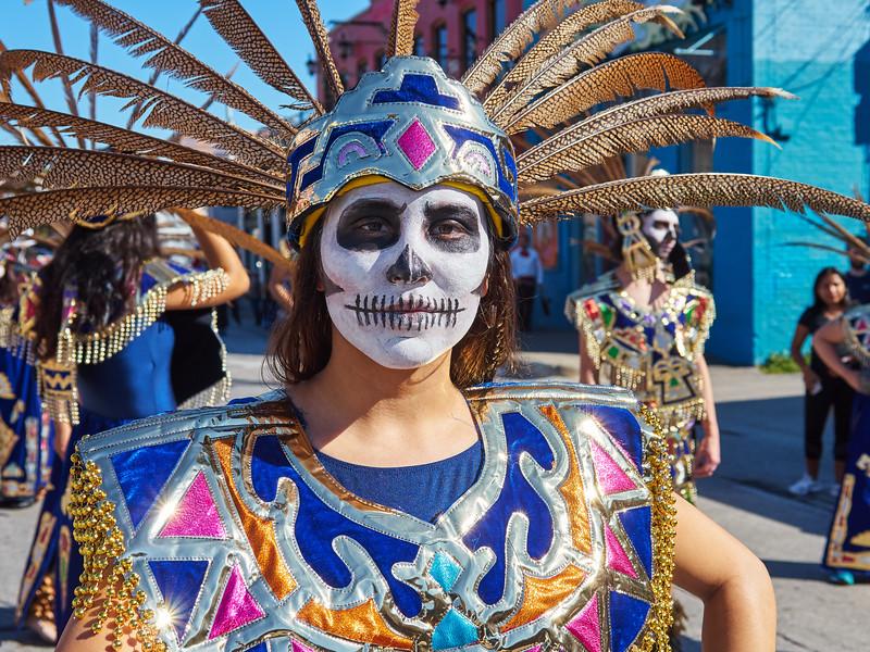 Dia de los Muertos Portrait - Austin, Texas