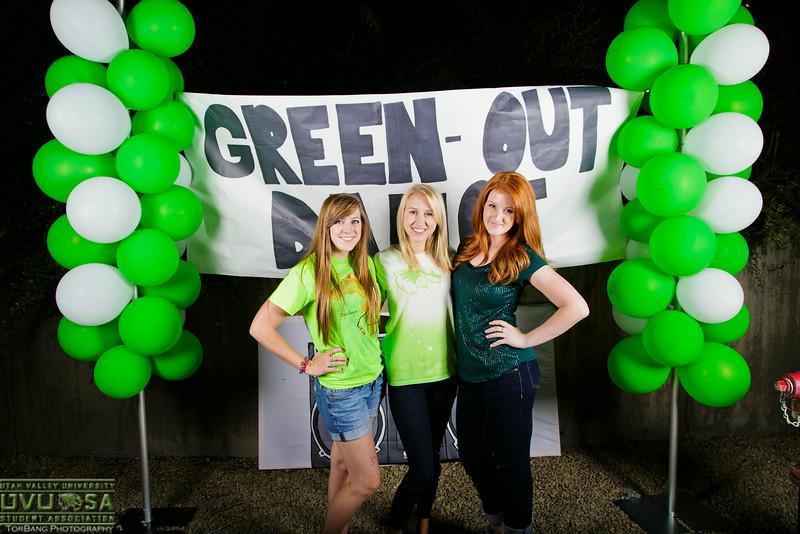 UVU Green Out Dance August 29, 2014 UVU Court Yard
