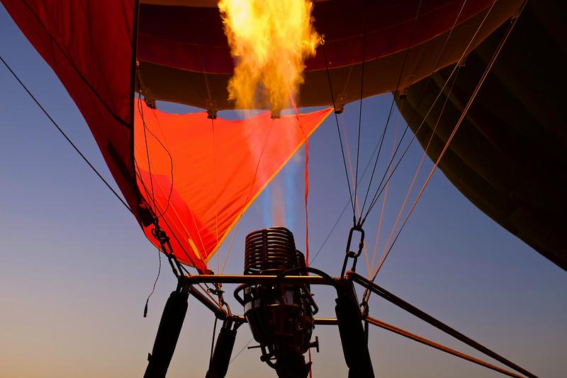 2014 Lake Travis Hot Air Balloon Flight #8 - Austin, Texas