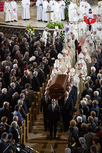 Cardinal Turcotte's Funeral