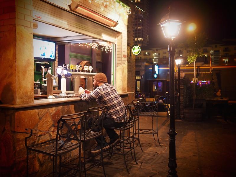 Outside Bar, Fado - Austin, Texas