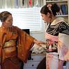 Kimono Fitting, Behind the Scenes - Austin, Texas