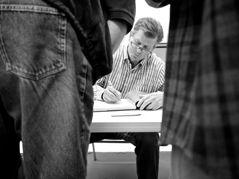 Book Signing, Michael O'Brien - Austin, Texas