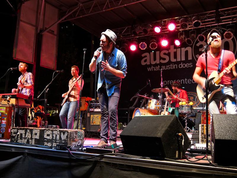 Live Concert,  Austin Fan Fest, Austin, Texas