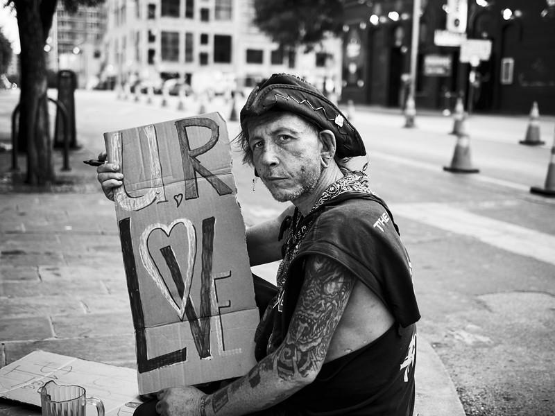 Street Signs, 6th Street - Austin, Texas