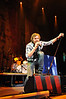 Dierks Bentley sings to fans at the i wireless Center in Moline, Jan. 30, 2009.