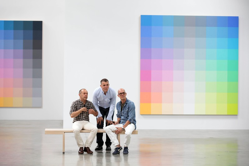 """Santa Monica Museum of Art """"Robert Swain: The Form of Color"""" Exhibition Opening"""