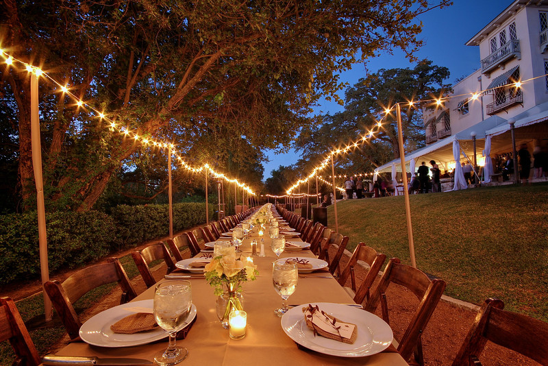 Long Wedding Table - Austin, Texas