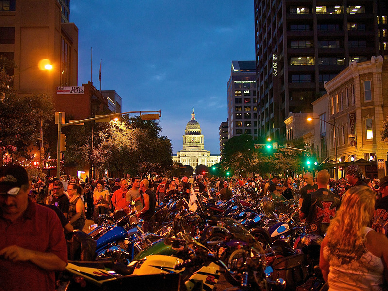 State Capitol, ROT Rally Parade - Austin, Texas