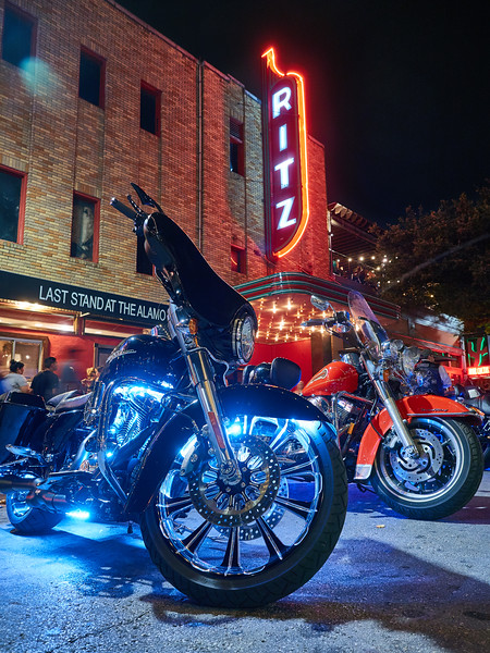 Harleys at the Ritz, ROT Rally - Austin, Texas