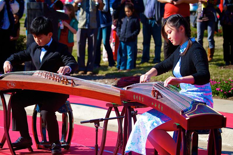 Musical Performance, 2012 Chinese New Year Celebration - Austin, Texas