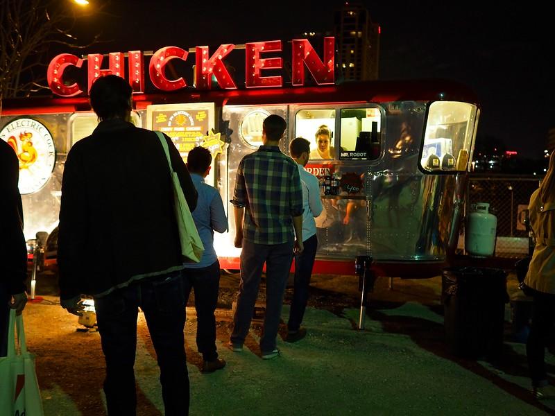 Chicken Truck, SXSW 2015 - Austin, Texas