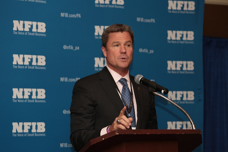 Pittsburgh Pirates President Frank Coonelly. National Federation of Independent Business. Spring 2015.