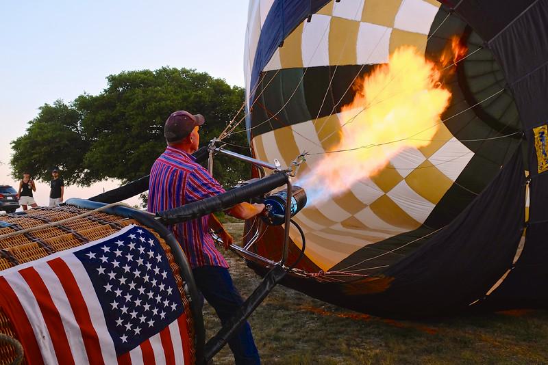2014 Lake Travis Hot Air Balloon Flight #7 - Austin, Texas