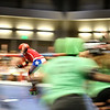 Texas Roller Derby, Jammer Breaks Through - Austin, Texas