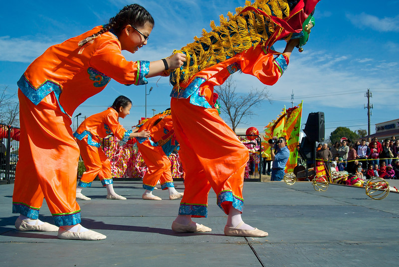 On Stage #1, 2014 Chinese New Year Celebration - Austin, Texas