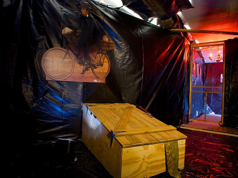Tornado Room, Wizard of Oz Themed Haunted House - Austin, Texas
