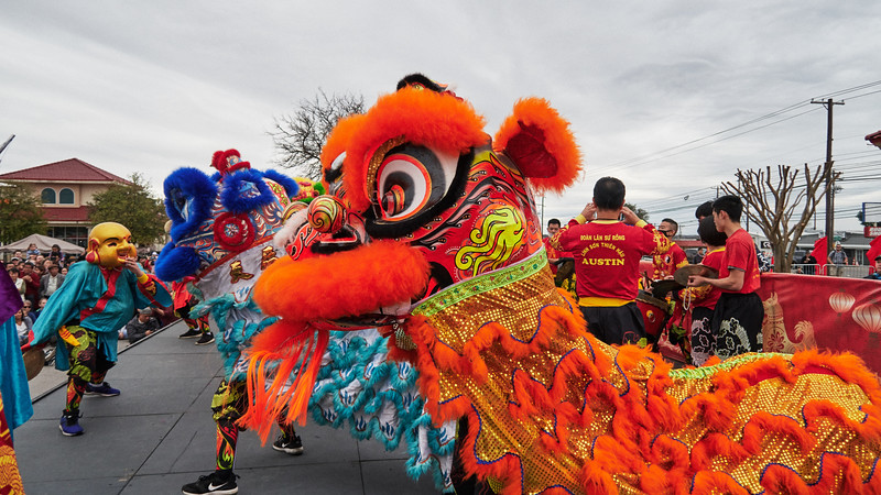 Chinese New Year in Wide-Angle - Austin, Texas