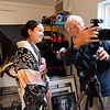 Kimono Photoshoot, Behind the Scenes - Austin, Texas