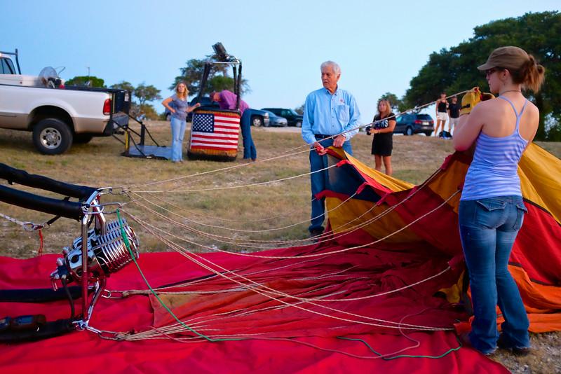 2014 Lake Travis Hot Air Balloon Flight #2 - Austin, Texas