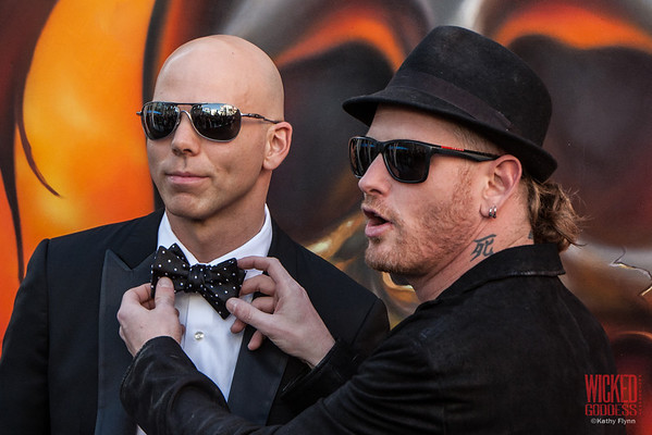 Stone Sour's Josh Rand and Corey Taylor