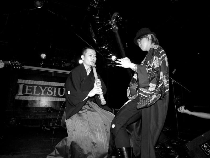 Shuji, Daisuke and Jack jam in Kao=S, SXSW Japan Nite - Austin, Texas