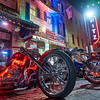 Choppers on 6th Street, ROT Rally - Austin, Texas