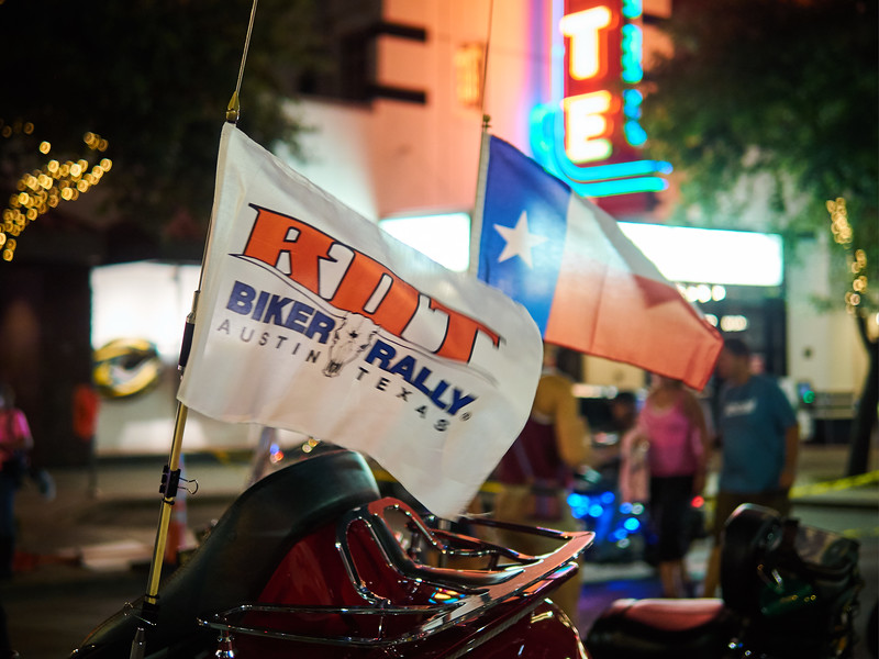 Flag Waving, ROT Rally - Austin, Texas