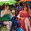 Patricia and Sallie, Eeyore's Birthday Party - Austin, Texas