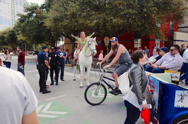 The SXSW Traffic Jam - Austin, Texas