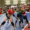 Texas Roller Derby, Blocking - Austin, Texas